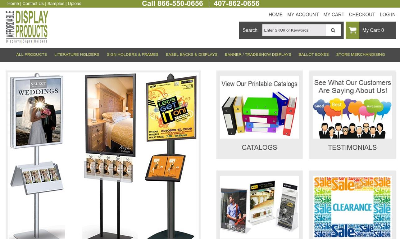 Affordable Display Products, Inc.