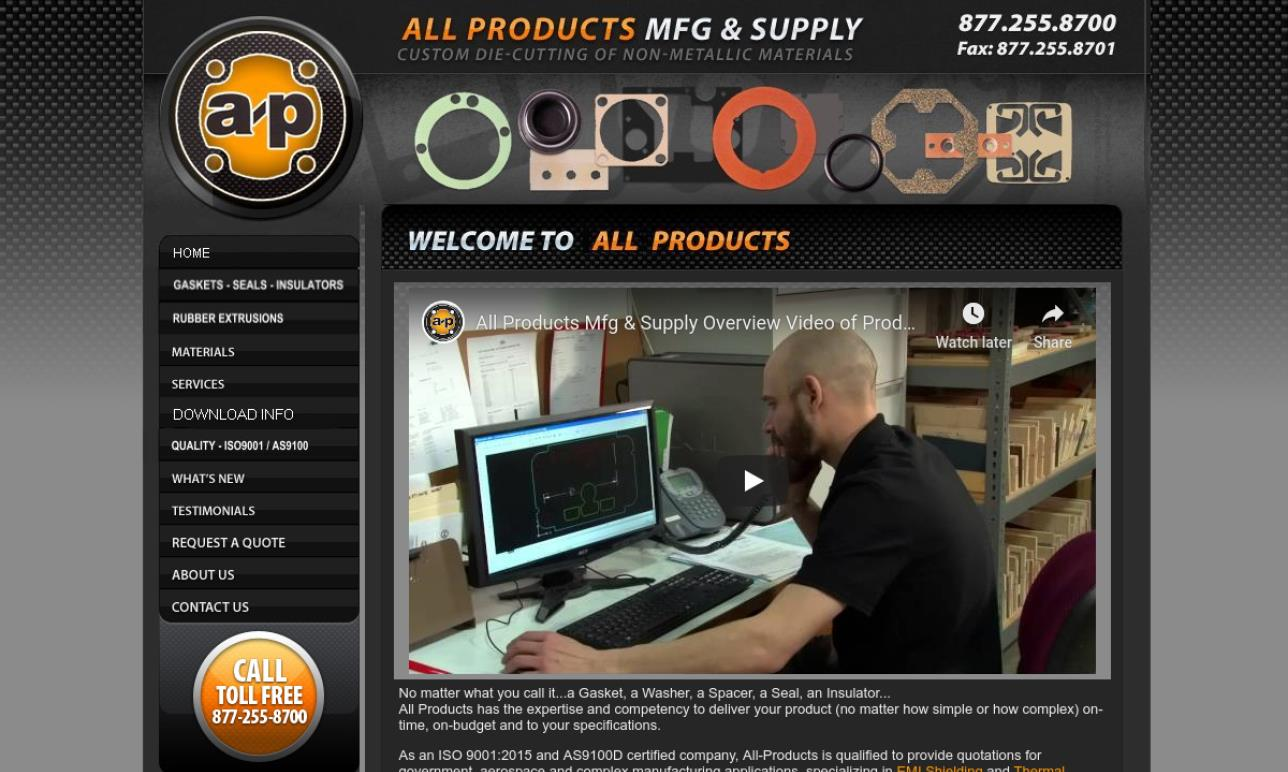 All Products Mfg. & Supply