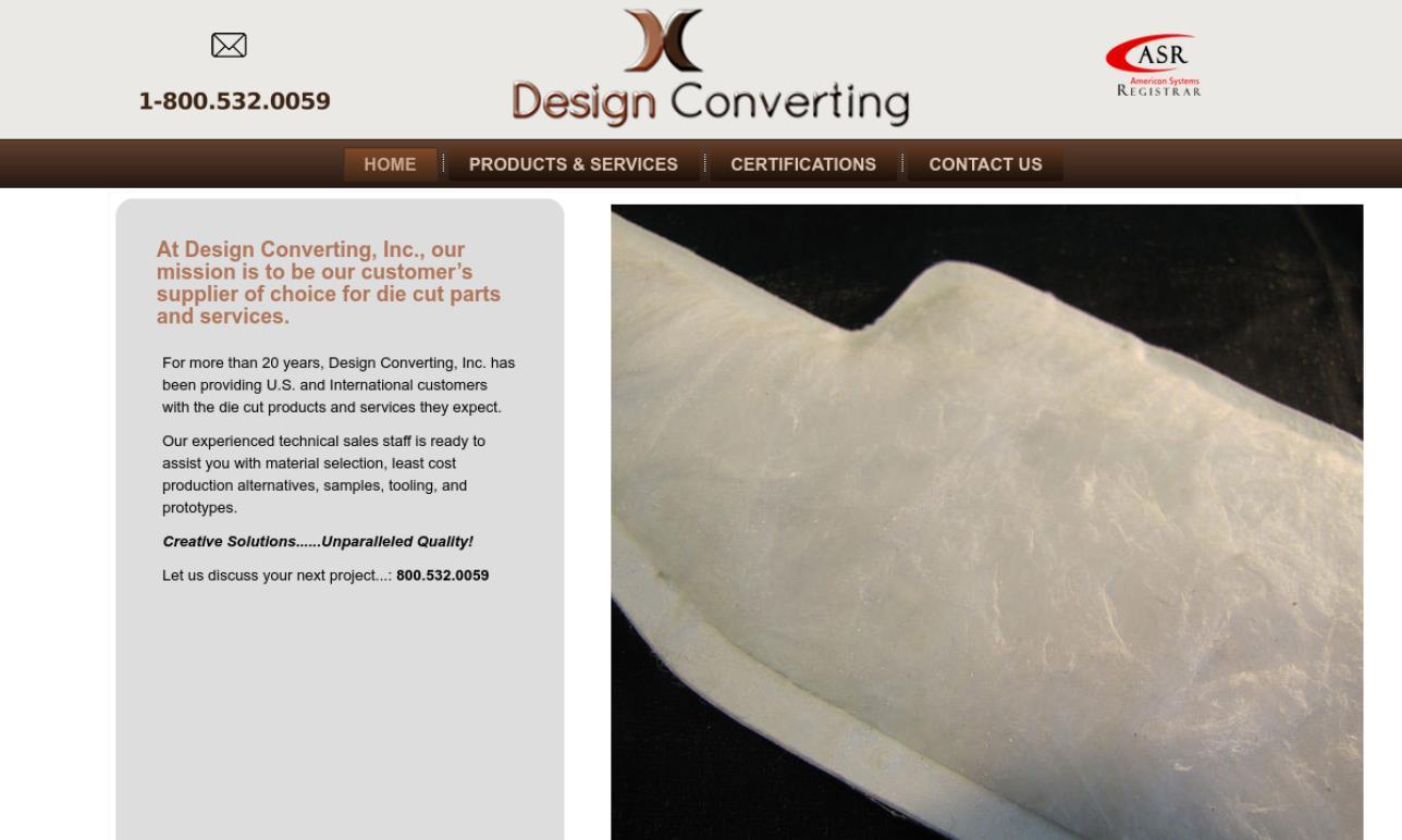 Design Converting, Inc.