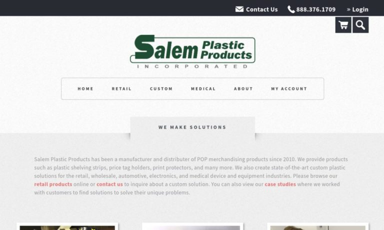 Salem Plastic Products, Inc.