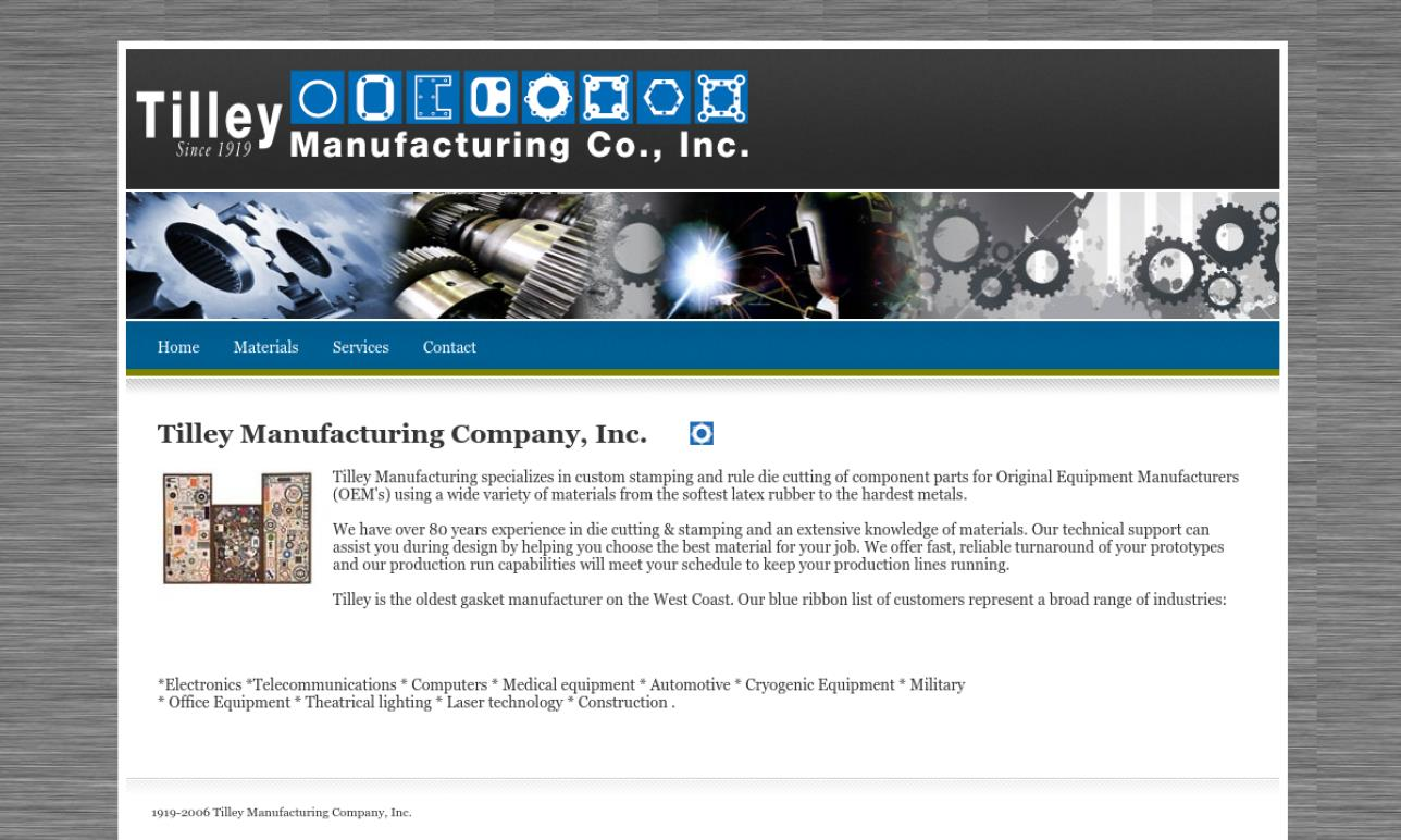 Tilley Manufacturing Company, Inc.