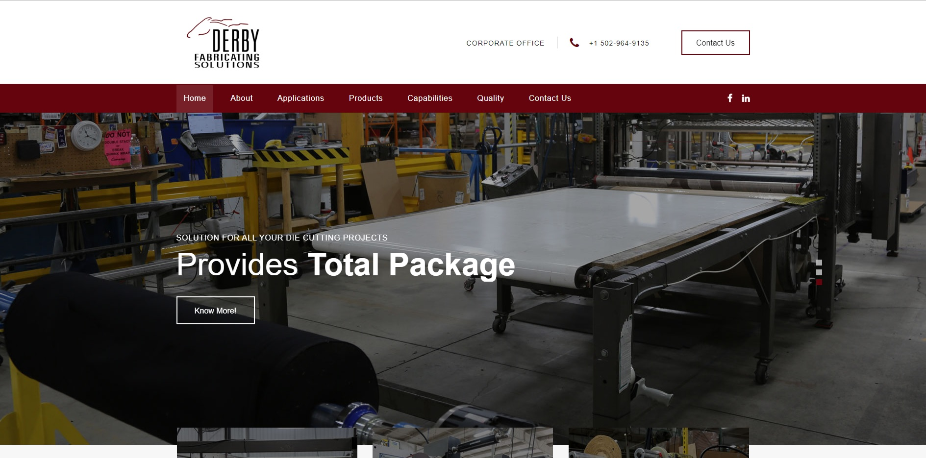 Advanced Fabricating tech./Derby Fabricating Solutions, Inc.